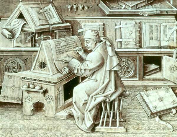 scriptorium-copistas-medievales