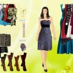 Vestir, maquillar y peinar a Demi Moore