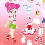 Juego de vestir y complementos para la muñeca Sue