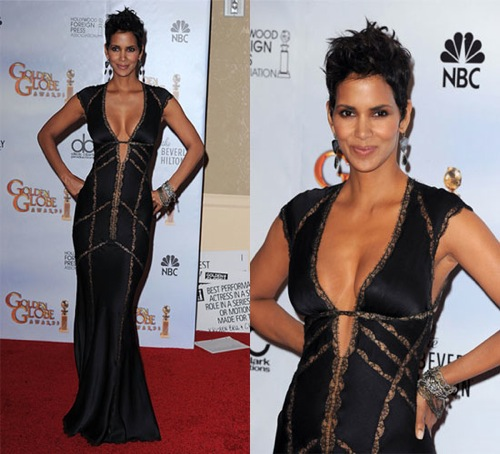 Halle Berry Golden Globes 2010
