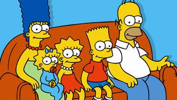 Simpsons 2010 sofa