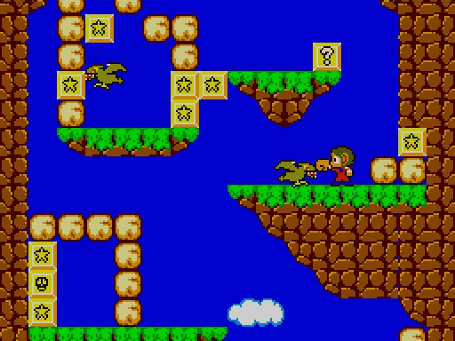 alex kidd miracle world master system