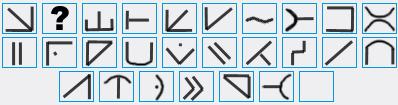 alfabeto alienigena futurama