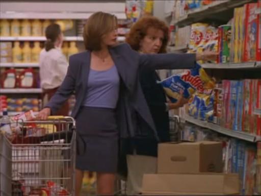 ally mcbeal serie supermercado humor 0