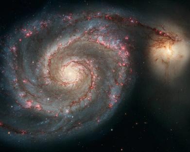 galaxias cosmos formacion hubble