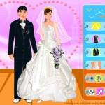 Vestidos y trajes para la pareja de novios