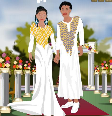 Moda y ropa para la boda en África