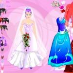 Juego para vestir a la novia de anime