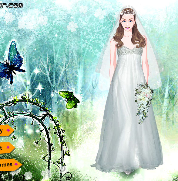 juego vestir novia hada