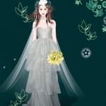 Vestir a la novia de la naturaleza