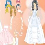 Juego para vestir a la novia princesa