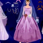 Juego para vestir y peinar a la novia guapa