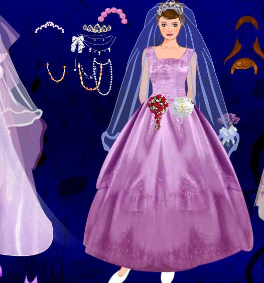 juego de vestir, maquillar y peinar novias | juegos