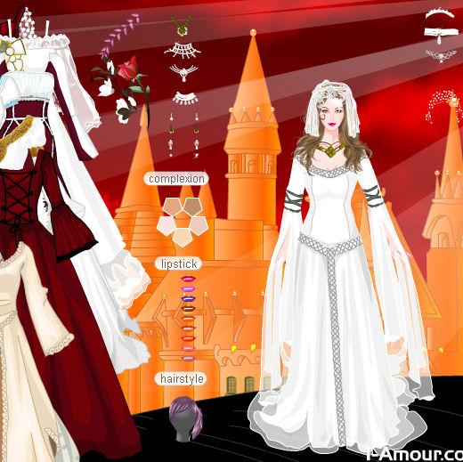 Juegos para crear vestidos de novia