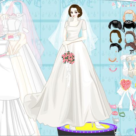 Crear vestidos de novia juegos