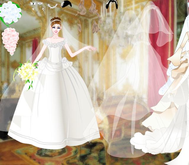 Juego para vestir a novias elegantes