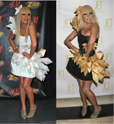 lady_gaga origami_dress