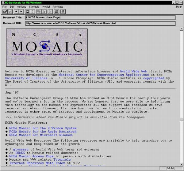mosaic explorador grafico