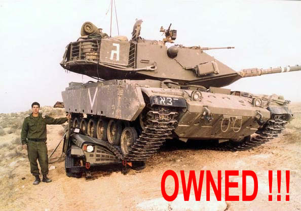 owned tanque coche