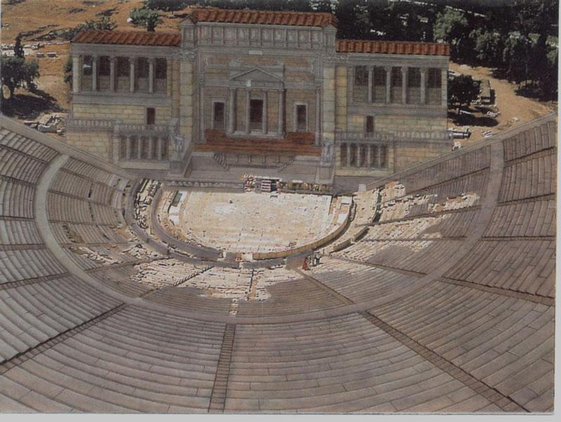 Reconstrucción del Teatro de Dioniso