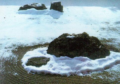 rioanji-jardin seco zen rocas grava japones japon nipon
