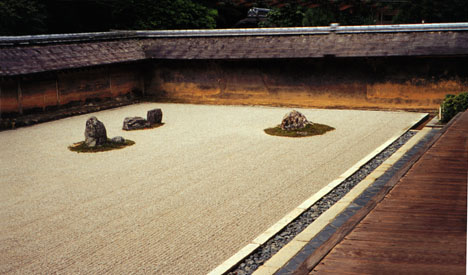 Ryoanji Temple dry garden