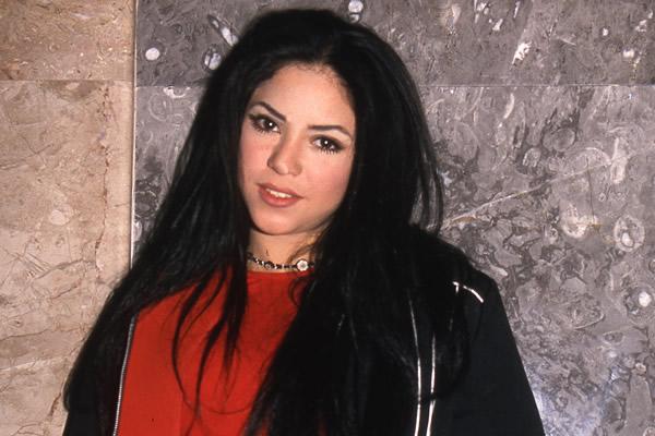 shakira 1997 principios antes comienzos musica