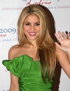 shakira 2009 gala latino