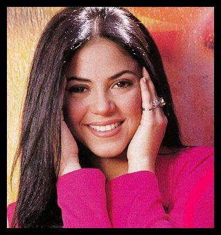 shakira brunette before 1996
