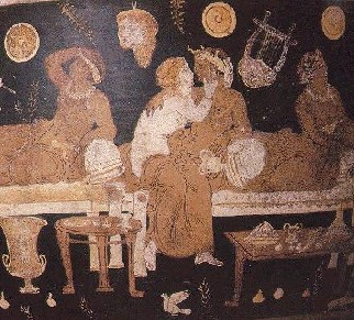 teatro-fresco romano drama