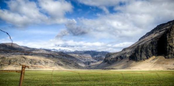 Eyjafjallajokull volcan islandia foto