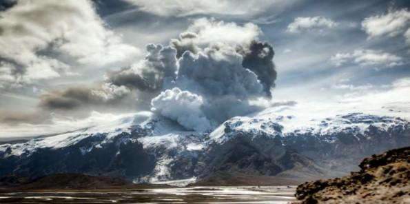Eyjafjallajokull volcan islandia fotografia
