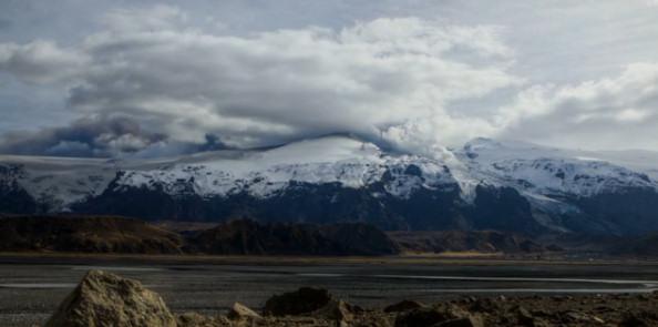 Eyjafjallajokull volcan islandia paisaje