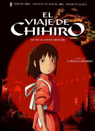 el viaje de chihiro-anime-cartel-cine