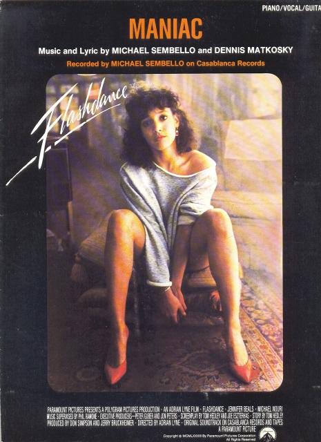 flashdance pelicula cartel 1983 80s