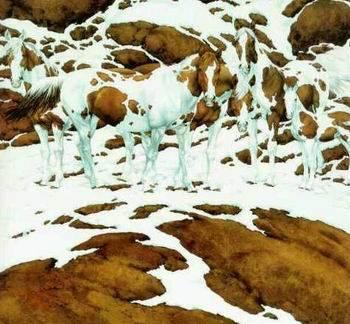 ilusion optica caballos escondidos