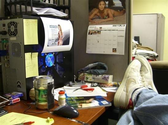 imagenes oficina humor risa desorden