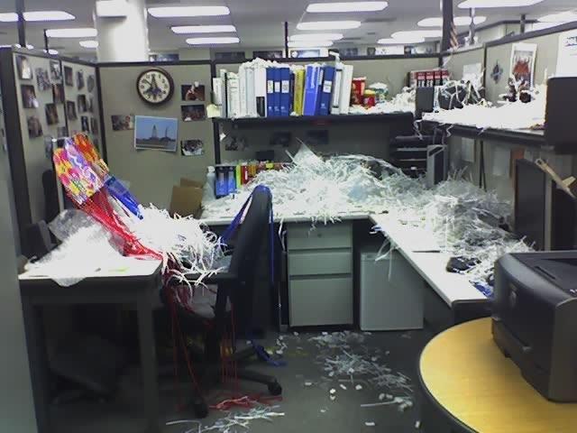 imagenes oficina humor risa desordenada