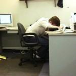 imagenes oficina humor risa sleeping
