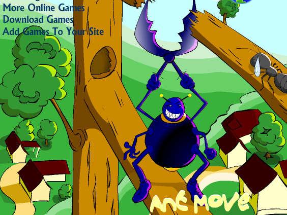 juego hormigas ant move