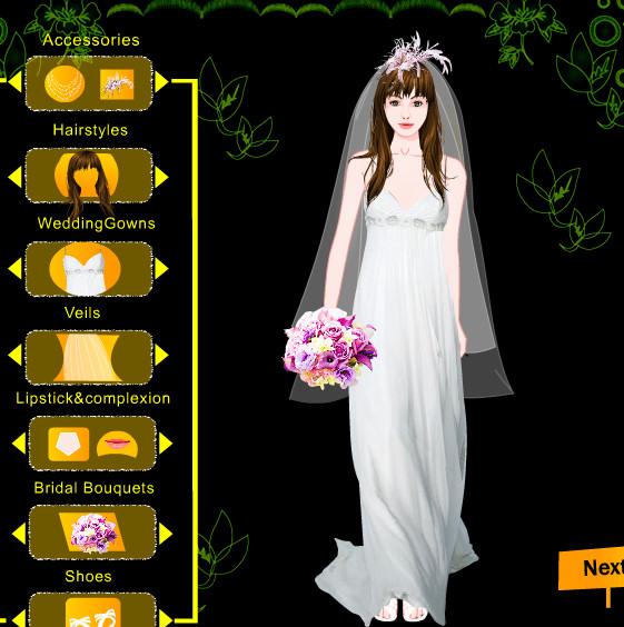 Juego de vestir a novias guapas