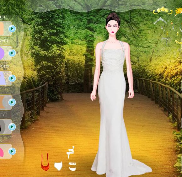 Juego para vestir a novias con moda y trajes de primavera