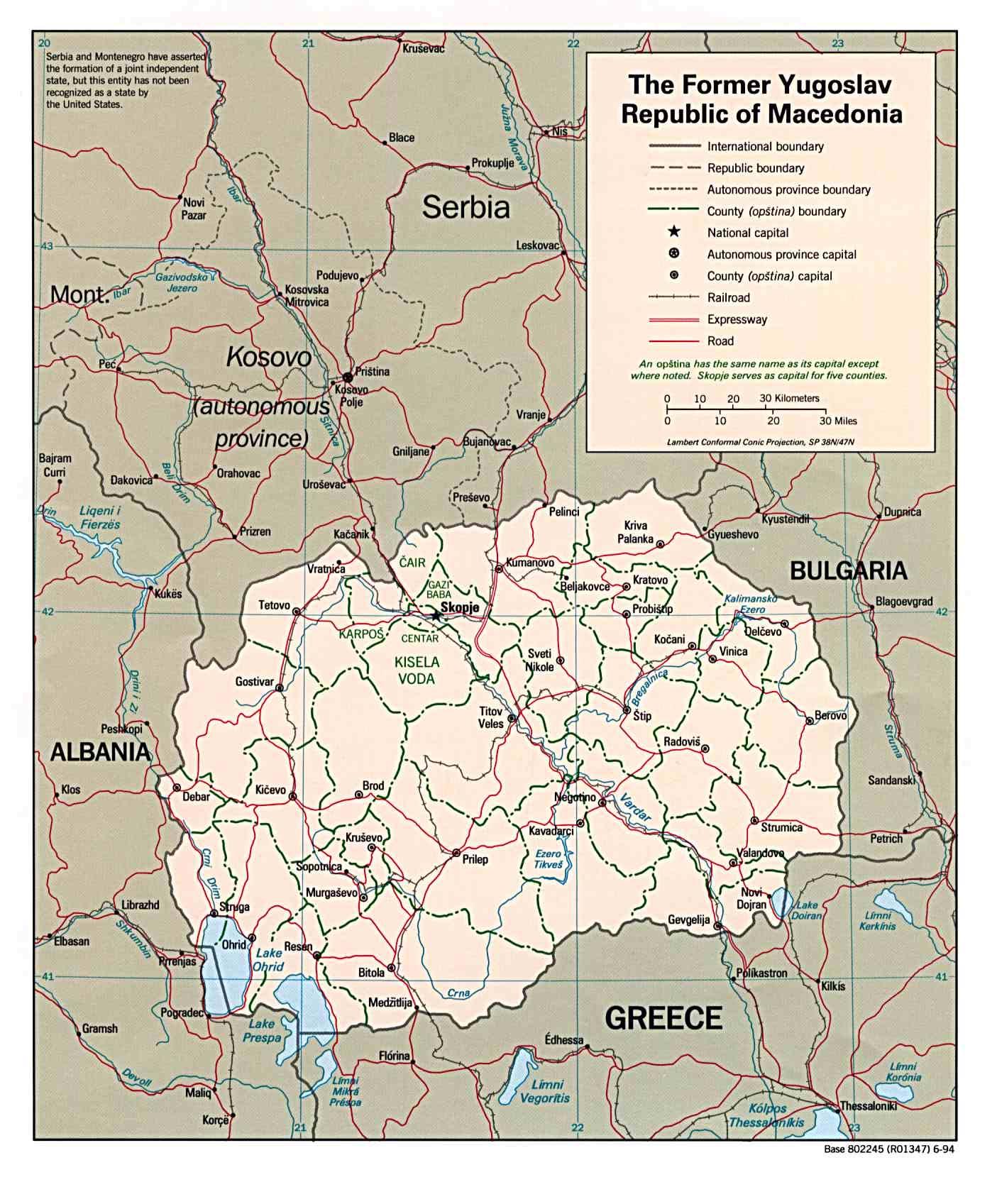macedonia pais europa