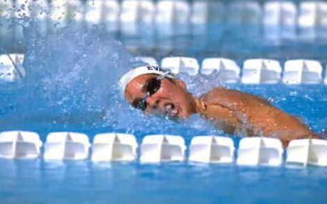 natacion nadador sudar sudoracion sudor
