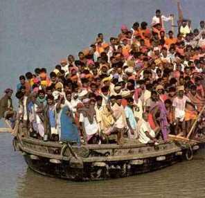 ¿Cuántas personas han vivido en la Tierra hasta el día de hoy? Poblacion-superpoblacion-gente-humanos-tierra-population
