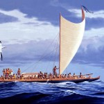 ¿De qué forma reconocían los polinesios sus islas?