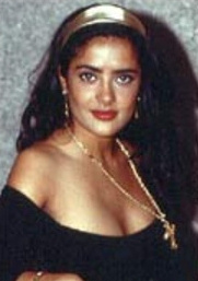 salma hayek antes joven