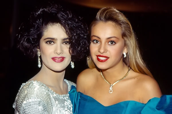 salma hayek paulina rubio jovenes-1989