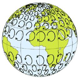 tiempo meteorologico clima efecto coriolis tierra corrientes