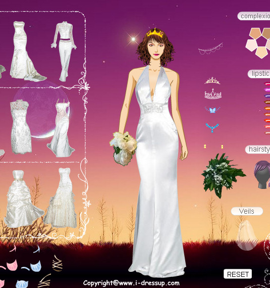 vestidos y trajes para arreglar a novias | juegos